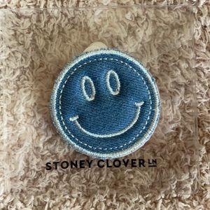 Stoney Clover Lane Denim Smiley Face